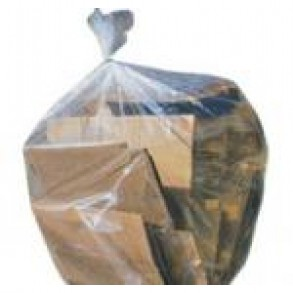 35X50 CLEAR GARBAGE BAGS Image 1