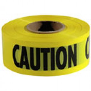 YELLOW CAUTION TAPE Image 1