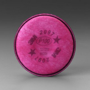 3M P100 PARTICULATE FILTER Image 1