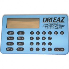 Dri-Eaz Digital Psychrometric Calculator Image 1