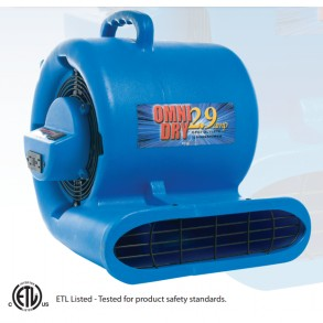 OMNIDRY 2.9 AMP AIR MOVER Image 1