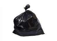 CONTRACTOR 3 MIL BLACK GARBAGE BAGS 35X50