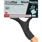 GLOVEPLUS BLACK NITRILE GLOVES Image 3
